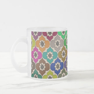 Flowers of Fun - Frosted Glass Coffee Mug