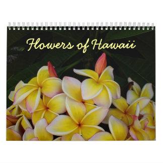 Flowers of Hawaii Calendar