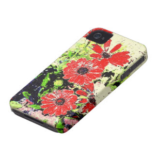 Flowers of Latina iPhone 4 Case-Mate Cases