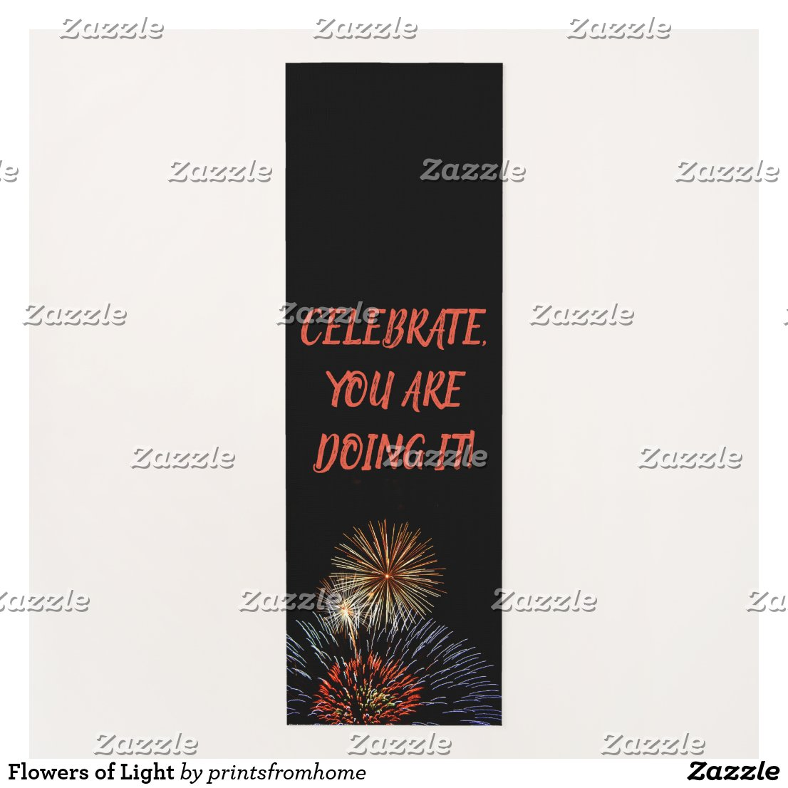 Flowers of Light Yoga Mat