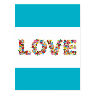flowers of love cute card great gift