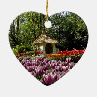 Flowers  of Love, from Keukenhof Ceramic Ornament