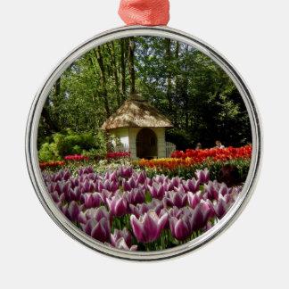 Flowers  of Love, from Keukenhof Metal Ornament