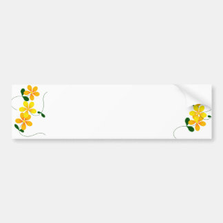 Flowers of Orange & Yellow Bumper Sticker