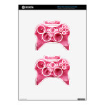 Flowers of pink hydrangea xbox 360 controller skins