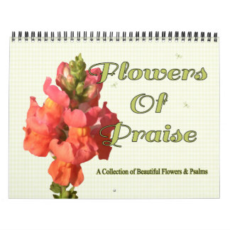 Flowers of Praise 2015 Two-Page Wall Calendars