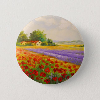 Flowers of Provence Button