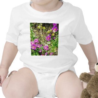 Flowers of Purple Baby Bodysuit