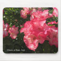 Flowers of Rome, Italy Mousepads