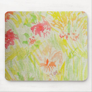 Flowers of Summer Watercolor 2013 CricketDiane v1 Mouse Pad