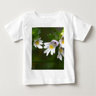 Flowers of the Eyebright Euphrasia rostkoviana Baby T-Shirt