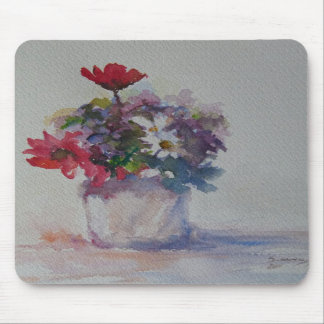 Flowers of the field mouse pad