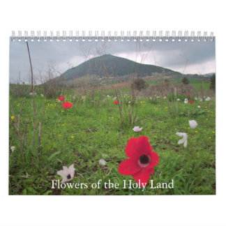 Flowers of the Holy Land Calendars