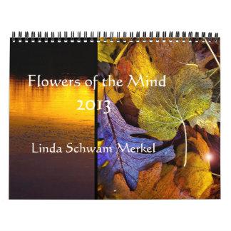 Flowers of the Mind  2013 Calendar