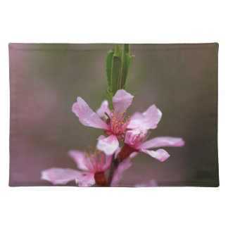 Flowers of the Russian Almond Tree Cloth Placemat