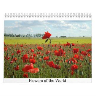 Flowers of the World Calendar