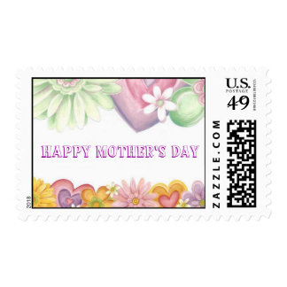 Flowers of Time-Happy Mother's Day-1 Stamps