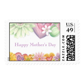Flowers of Time-Happy Mother's Day Postage Stamp