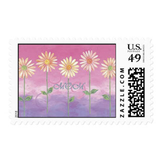 Flowers of Time MOM Postage Stamps