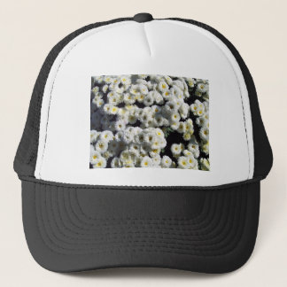 Flowers of White Trucker Hat