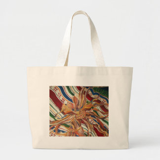 flowers on a  blanket bags