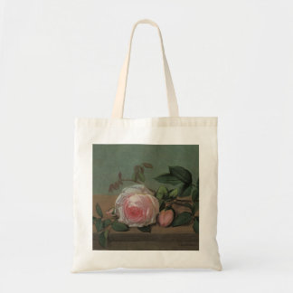 Flowers on a Ledge by Ottesen, Vintage Still Life Tote Bag
