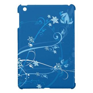 Flowers on Blue iPad Mini Case