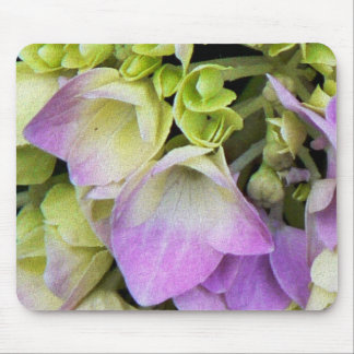 Flowers on Canvas Mousepad