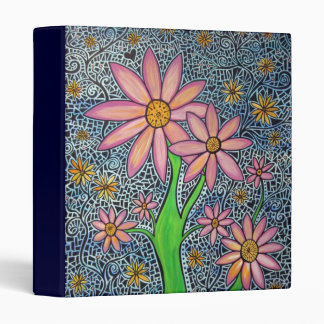 Flowers on Da Vine Original Art Binder