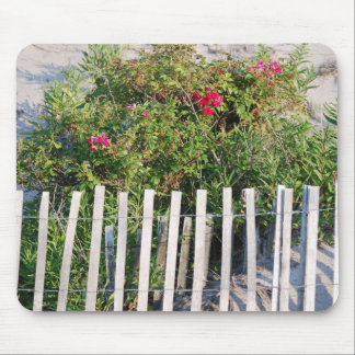 Flowers on dunes mouse pad