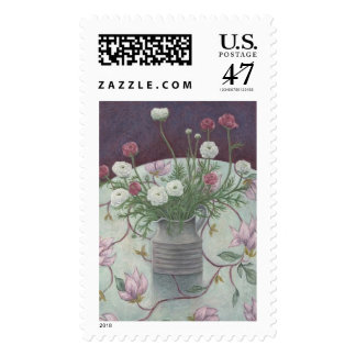 Flowers on Flowers 2003 Stamp