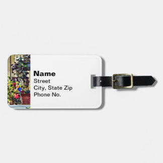 Flowers On Porch Luggage Tag