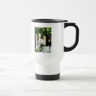 Flowers on Steps Coffee Mug