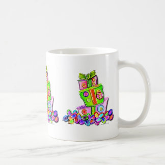 flowers on the fancy cake 1 coffee mug