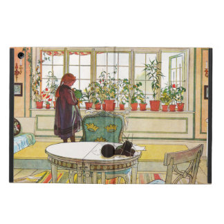 Flowers on the Windowsill by Carl Larsson iPad Air Case