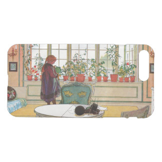 Flowers on the Windowsill by Carl Larsson iPhone 8 Plus/7 Plus Case