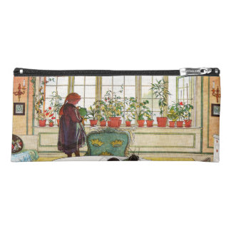 Flowers on the Windowsill by Carl Larsson Pencil Case