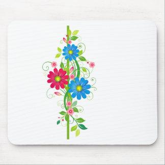 Flowers on Vine Mouse Pad