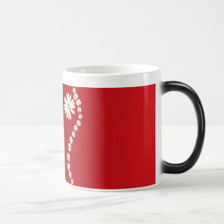 flowers online 11 oz magic heat Color-Changing coffee mug