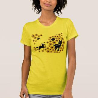 flowers (Orange) T-Shirt