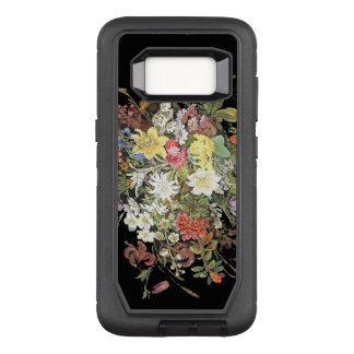 Flowers OtterBox Defender Samsung Galaxy S8 Case