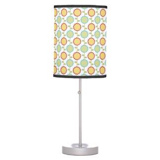 flowers pattern design lampshades desk lamp