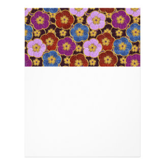 Flowers Pattern In Multi-Colors Flyer