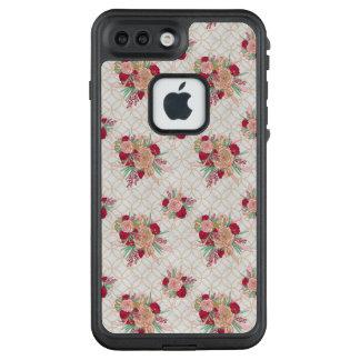 Flowers Pattern LifeProof FRĒ iPhone 7 Plus Case