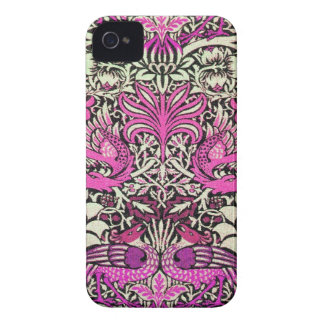 FLOWERS,PEACOCKS AND DRAGONS Case-Mate iPhone 4 CASES