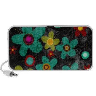 Flowers peaker iPod speakers