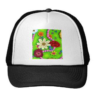 Flowers & Pearls Trucker Hat