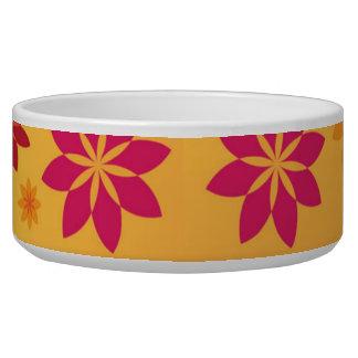 Flowers Pet Bowl, Bowl