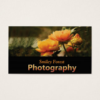 Flowers_photo_photography_business cards
