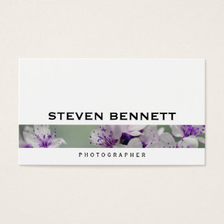 Flowers | Photography Business Card